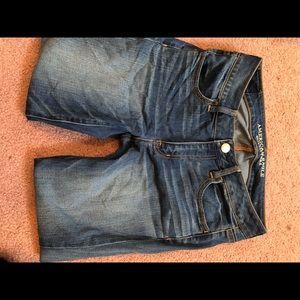 AEO super stretch jeans size 8 short